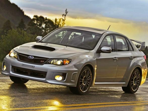 Subaru Impreza WRX STI 2013 - Front Side