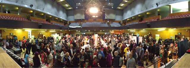 WMVF West Midlands Vegan Festival 2012 - Packed Out