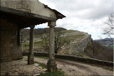 Txandi visto desde la ermita