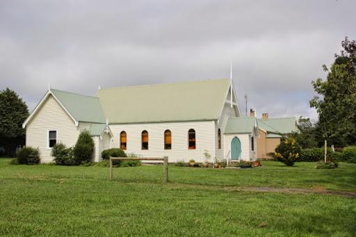 A wooden church in Robertson, Australia