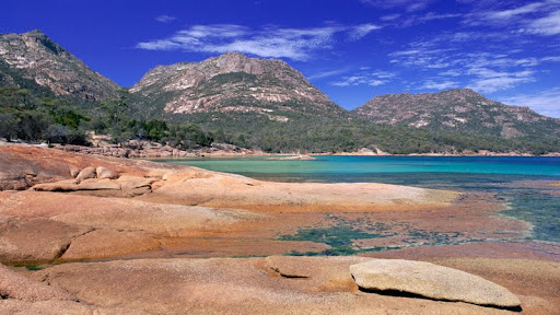 Honeymoon Bay, Hazards Mountains Reserve, Freycinet National Park, Tasmania.jpg