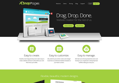Snappages.com free online website builders