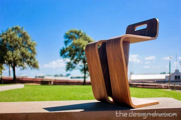 Еще один вид фанерного стула