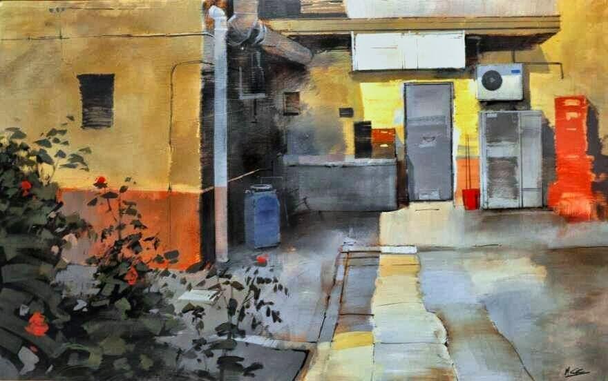 Primer Premio de pintura Manuel Castillero Ramirez, XIII Certamen de pintura rápida de Murcia