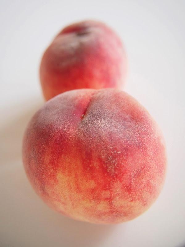 桃の皮が簡単にむける方法をやってみました