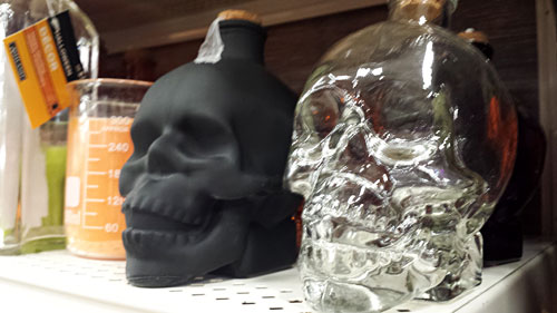 michaels halloween decorations skull vase - Michaels Halloween Decorations