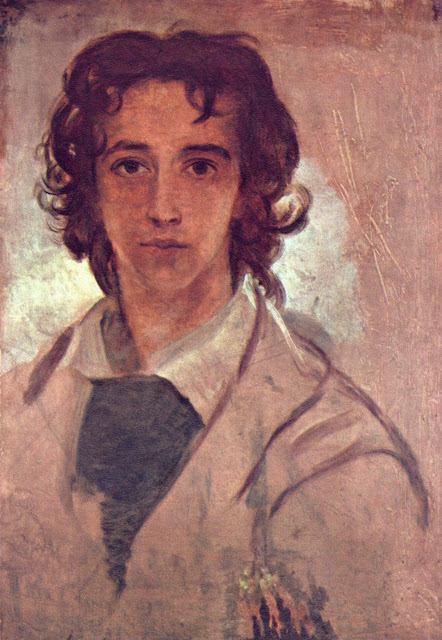 George Frederick Watts - Self-portrait as a young man
