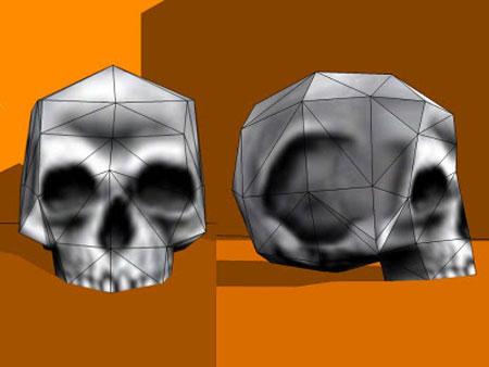 Half Life Skull Papercraft