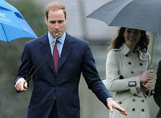 Prince William Wedding News: Royal fans hoping for spring showers when Prince William marries Kate Middleton