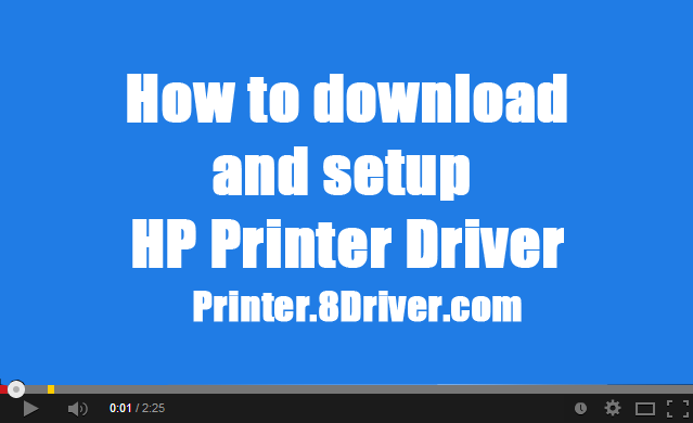 Video step to step install HP 5000 Series Printer driver