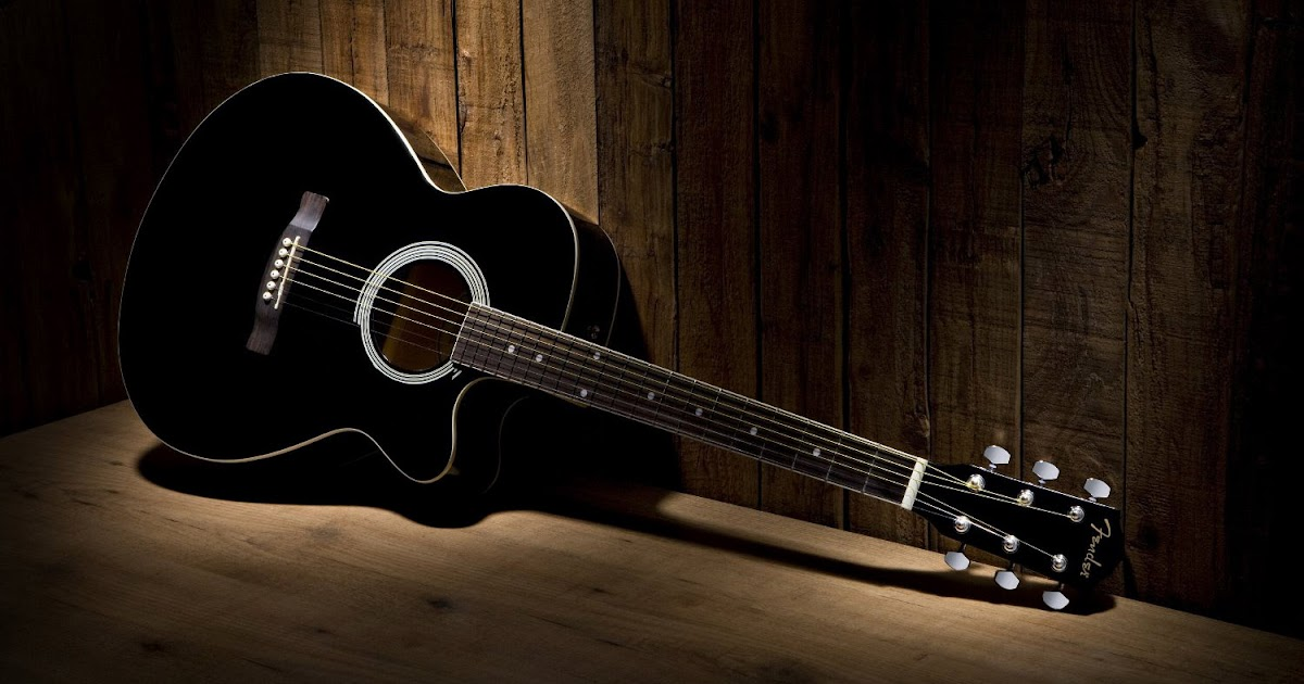 guitar wallpaper black and white fender fa 130 acoustic guitar cutaway old wood background. Black Bedroom Furniture Sets. Home Design Ideas