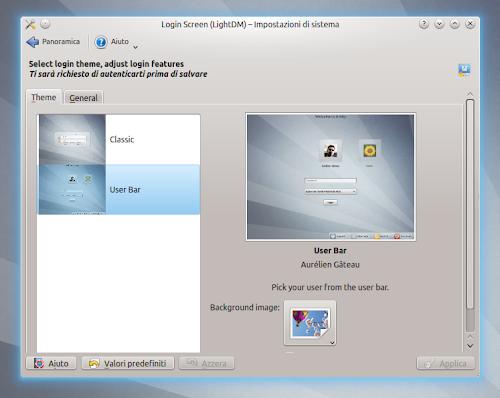 Kubuntu 12.10 Quantal Quetzal - LightDM KDE