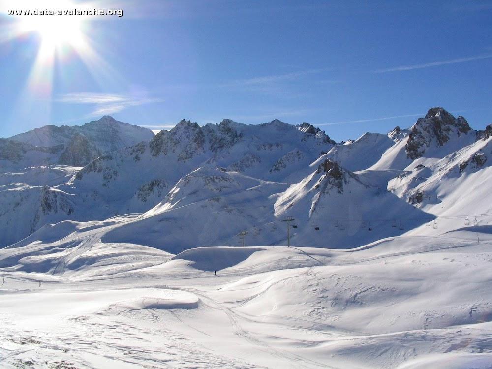 Avalanche Vanoise, secteur Grande Motte, Combe de l'Ancolie - Photo 1