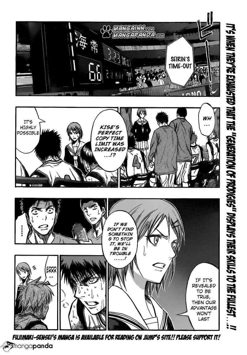 Kuroko no Basket Manga Chapter 197 - Image 02