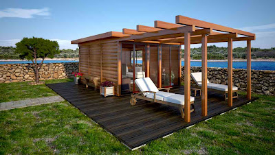 Shedworking Spring garden office designs from Oazis