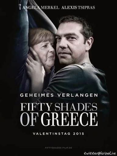 As 50 sombras da Grécia - Angela Merkel e Alexis Tsipras