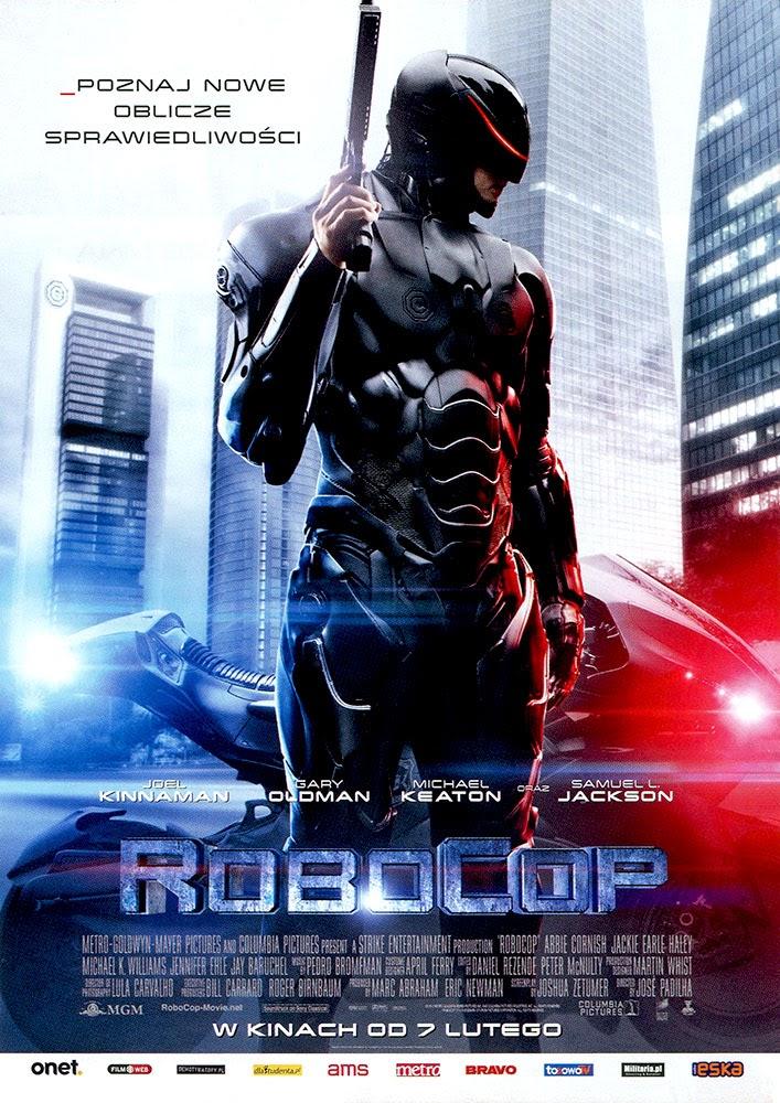 Ulotka filmu 'RoboCop (przód)'