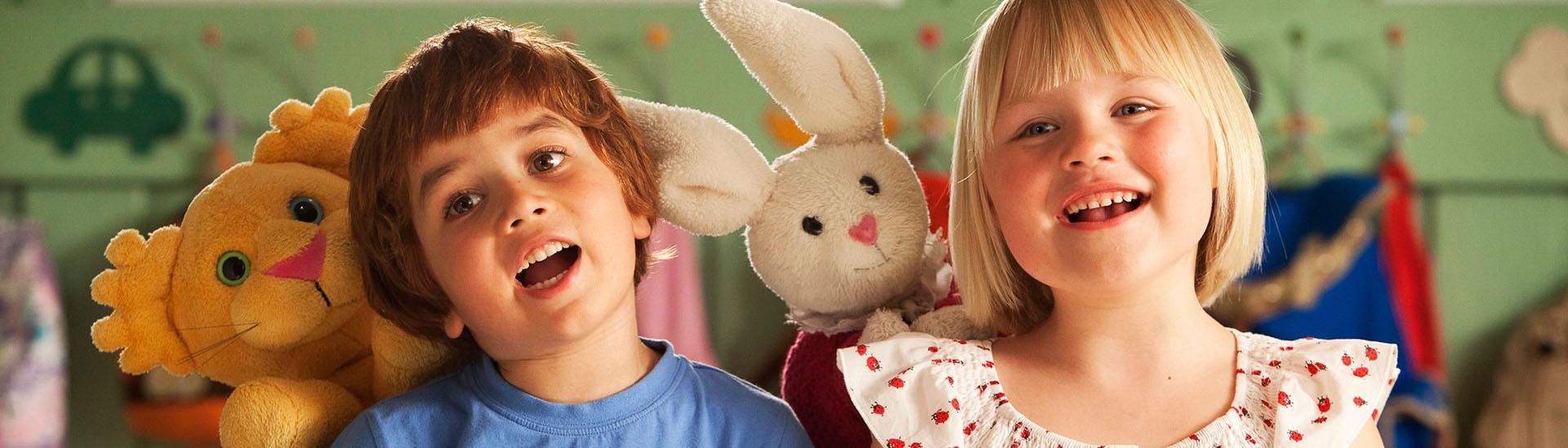 Baner filmu 'Kacper i Emma - Najlepsi Przyjaciele'