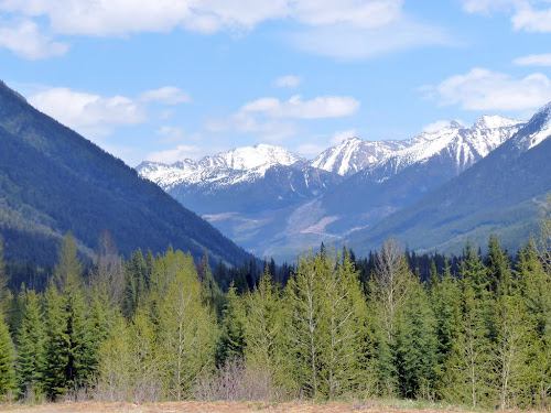 Sea To Sky Highway Coast Mountains British Columbia
