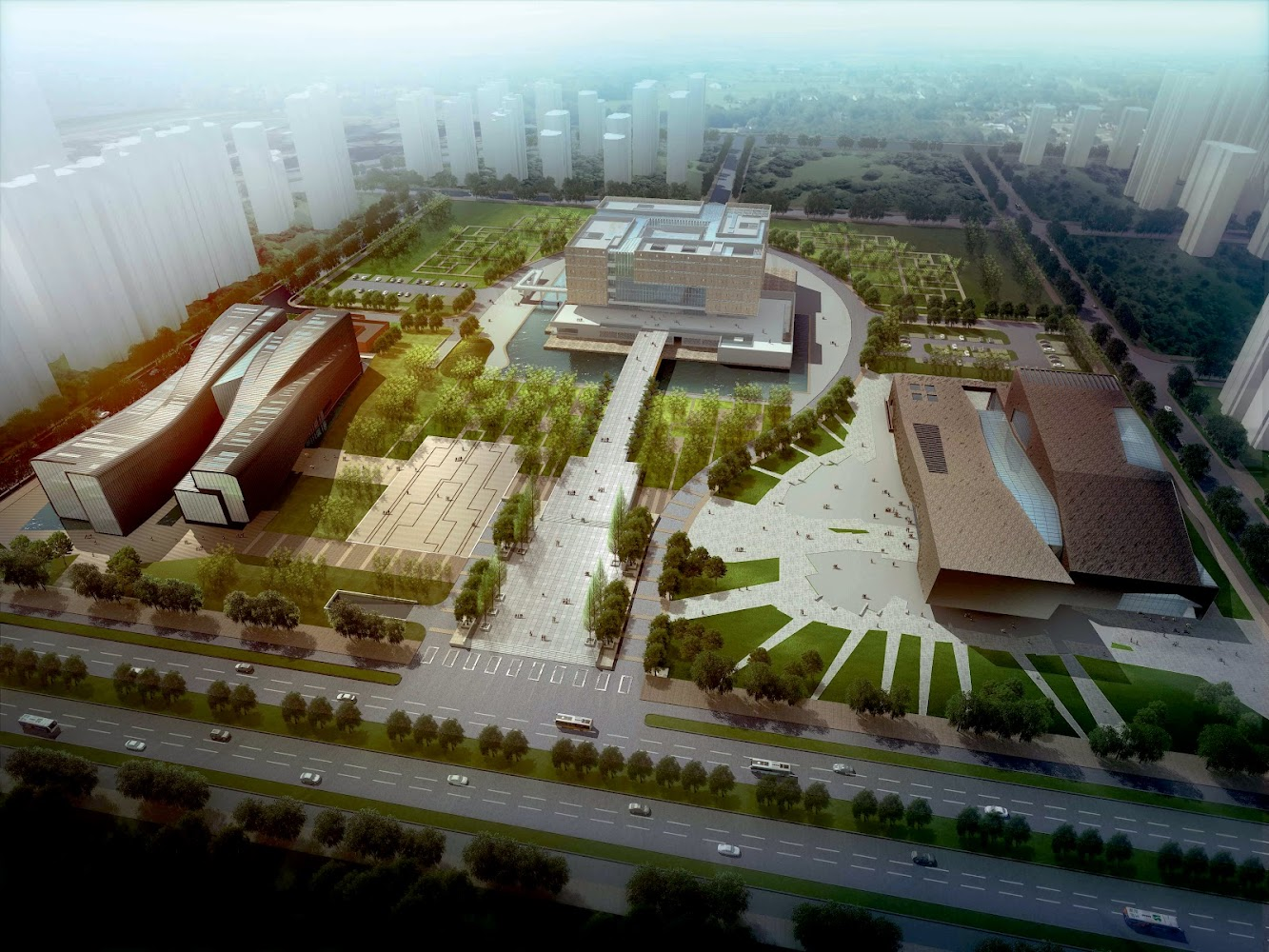 Anhui Provincial Art Museum by Rta Office