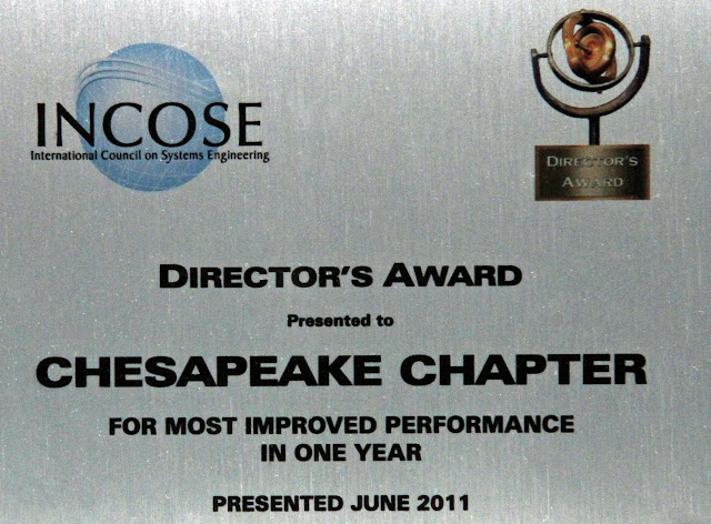 Chesapeake Chapter 2011 Director's Award