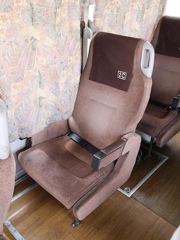 九州産交バス「やまびこ号」 3019 シート