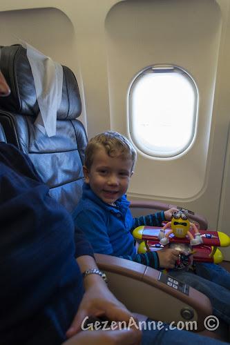 THY Nice uçağında