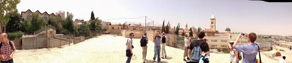on the roofs of Jerusalem