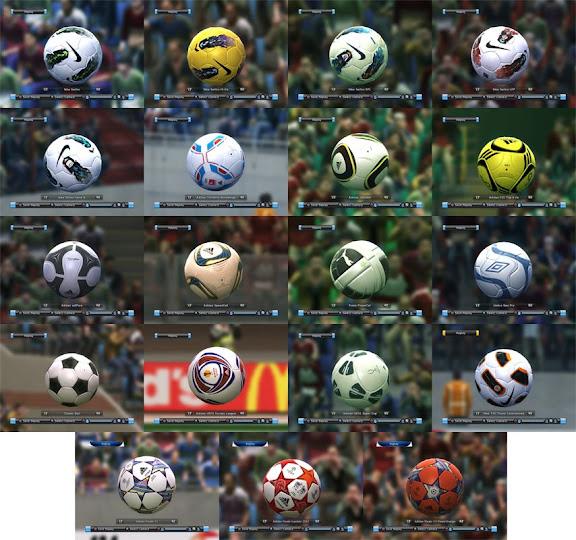 00bb8522 PES 2011: Bolas da temporada 2011/12 em HD