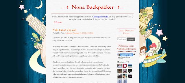 Nona Backpacker