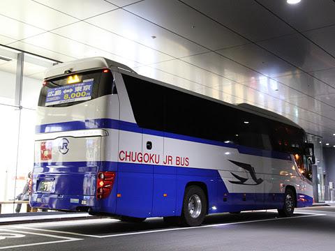 中国JRバス「鹿児島ドリーム広島号」 641-6903 リア