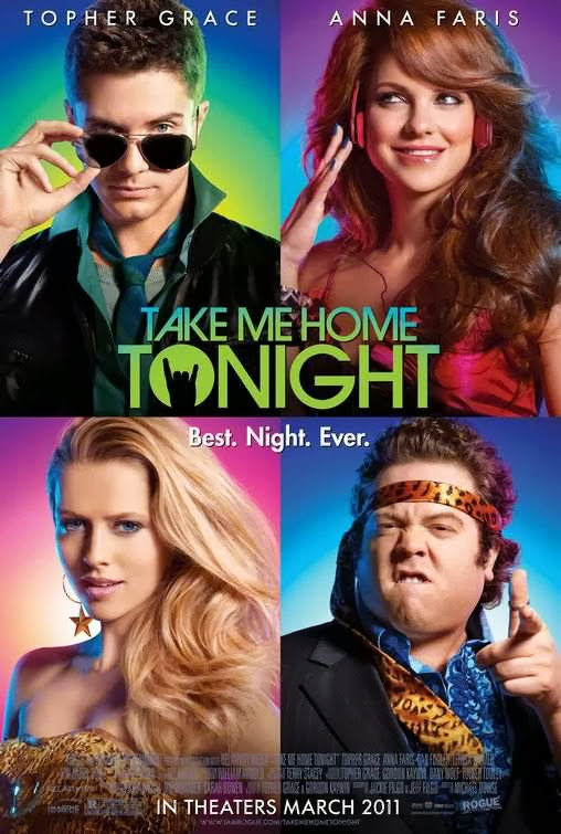 Poster Of Take Me Home Tonight (2011) Full Movie Hindi Dubbed Free Download Watch Online At Alldownloads4u.Com
