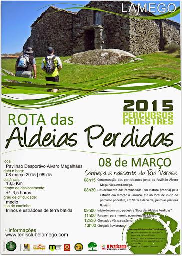 Fotos - Rota das Aldeias Perdidas - Lamego - 2015