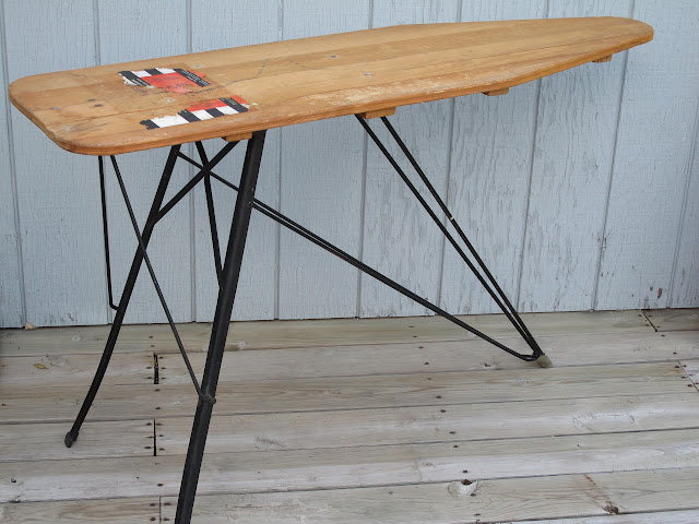 Wooden ironing board available for rent from www.momentarilyyours.com, $8.