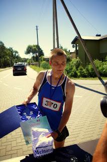 Darius Didaronkus - Melnaragės maratono 2013 nugalėtojas