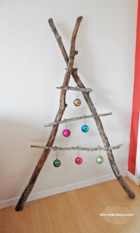 Un rbol original de navidad somosdeco blog de decoraci n - Decoracion de navidad original ...