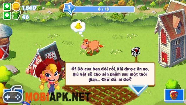 Hack Tien Game Green Farm 3 Apk