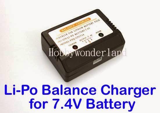 li ion battery charger with cell balancing  main image  li