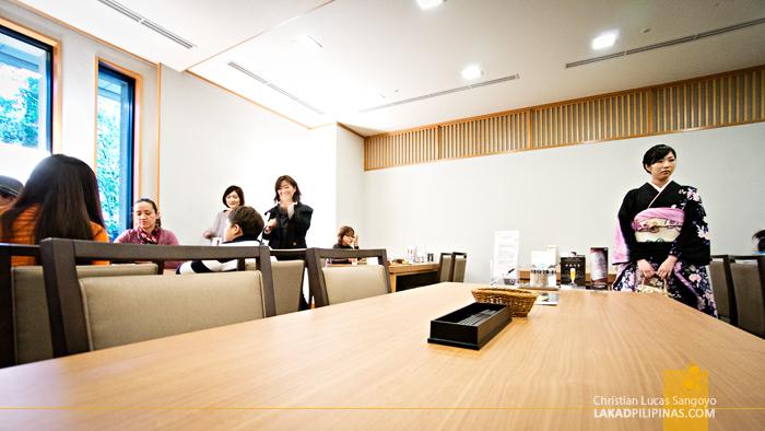 Lunch at Yumoto Fujiya Hotel in Kanagawa