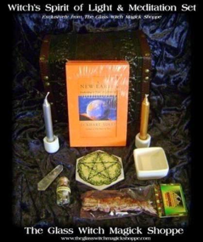 Witch Spirit Of Light And Meditation Set Bd - 85 00