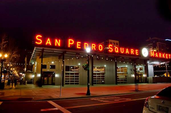Trying Something New At The San Pedro Square Market; Ever in Transit