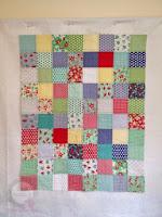 Trimmed quilt
