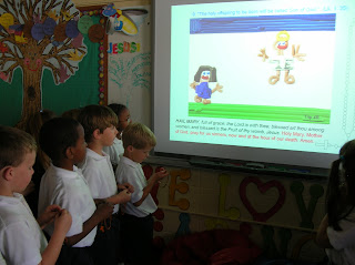 Students Use Technology to Create and Pray the Virtual Rosary at Montgomery Catholic 1