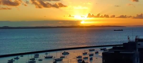 Baía de Todos os Santos, Salvador da Bahia, Brasil