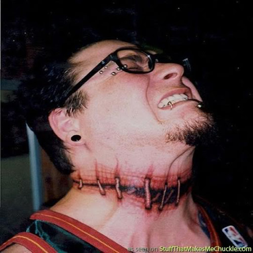 tribal tattoos jokes Ideas Neck  And For How Tattoo? Men Tattoo designs Awesome to