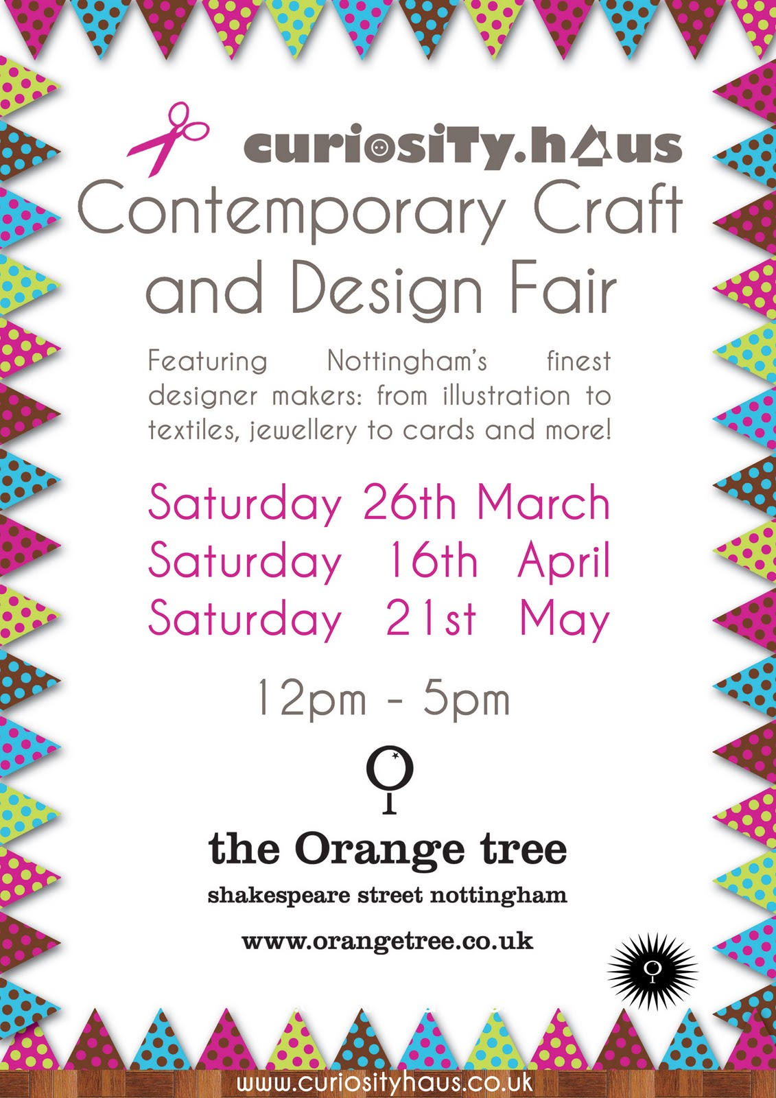 Poster design nottingham - Haus Contemporary Craft And Design Fair Upcoming Events Nottingham S