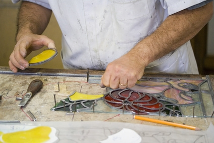 Traditional Craft: Glass - Stained Glass