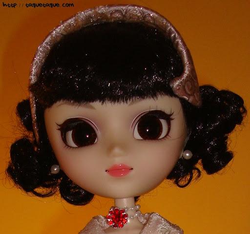 pullip princess ann vacaciones en roma roman holiday vestido rosa elegante princesa tocado