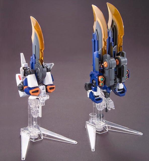 Đấu sĩ LBX Ikaros Zero sẽ chiến đấu với những lưỡi đao máy
