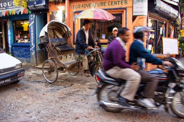 達人帶路-環遊世界-尼泊爾-機車